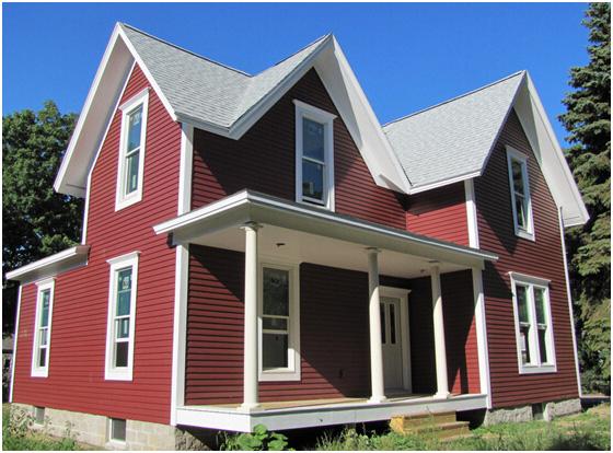 轻钢结构别墅屋顶瓦有什么特点?